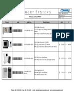 Intercomunicadores Memory Systems