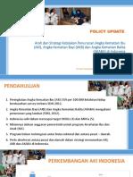 201301 Arah Dan Strategi Kebijakan Penurunan Angka Kematian Ibu