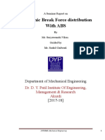 Seminar report on electronic break force distribution