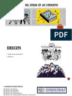 Intervención Del Estado en Los Sindicatos