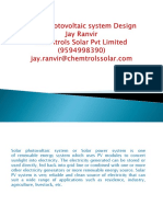 Solar Photovoltaic System Design