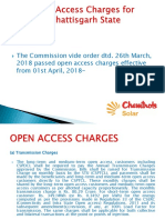 Open Access Charges Chhattisgarh