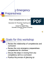 Teaching Emergency Preparedness