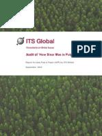 ITS Global Greenpeace Audit Report