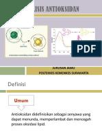 analisis antioksidan