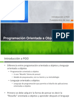 1.1 Introduccion a POO Fundamentos de Java