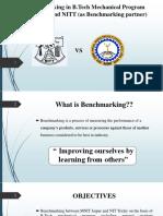 Benchmarking in B