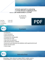 Convergence of Finite Element Model