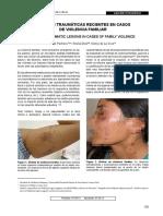 Articulo de LESIONES en Violencia Familiar