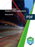 HDP Developer YARN Setup Guide