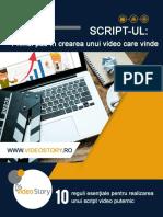 eBook 10 Reguli Esentiale Pentru Un Script Video de Succes