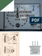 Regulacion de Tension en transformadores con taps
