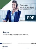 Customer Service Software Landscape May 2017