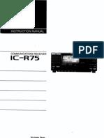 icr75 user manual
