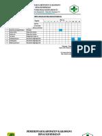 2. Jadwal Pemeliharaan Prasarana PKM Kertamukti