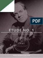 Etude+No.+1+Heitor+Villa+Lobos+(free+Tabs)