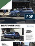 Brochure i30 2017