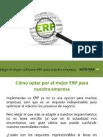 Cómo optar por el mejor ERP para nuestra empresa