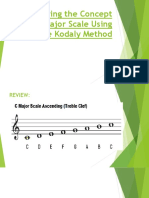Enhancing the Concept of Major Scale Using the.pptx