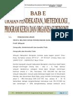Bab_5,Uraian Pendekatan,Metodologi, Program Kerja, Organisasi Personil OK