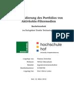 Konsolidierung Des Portfolios Von Aktivkohleelementen Mann Hummel