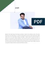 About Dr.Vishwanath