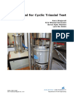 Manual for Cyclic Triaxial Test