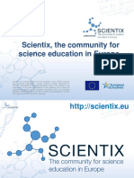 The Importance of the Scientix Project for Stem Education