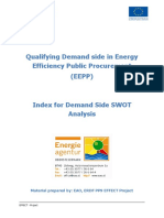EFFECT - Demand Side SWOT Analysis