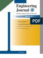 AISC Engineering Journal 2012 First Quarter Vol 49-1