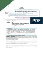 Foro de Debate y Argumentación Matemática i 2018-i (1)
