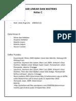 Aljabar Linear Matriks A5