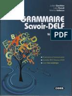 Grammaire Savoir DELF