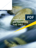 Implementing and Maintaining ISAE 3402(1)