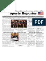 June 6 - 12, 2018  Sports Reporter