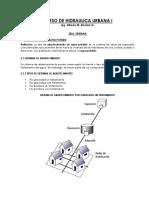 Curso de Hidraulica Urbana i (Clase 2)