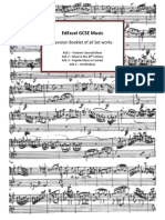 Music Edexcel Gcse Revision Booklet Old