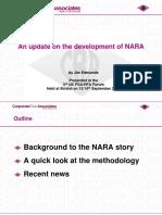 Jim Edmunds NARA Update