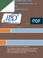 Aplicaciones de Los Mu00e1ximos y Mu00ednimos en La Ingenieria Electromecanica