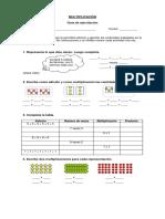Guía de Multiplicación y División Tercero