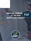 Building Community at New Essex Street Market