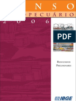 Censo Agropecuário 2006 (IBGE)