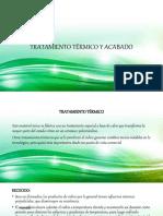 Tratamiento Termico y Acabdo