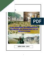 Plan de Desastres - Piura