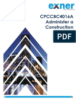 Course Notes Administer a Construction Contract CPCCBC4016A
