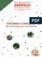 """Dossier Agropolis """"Systèmes complexes de la biologie aux territoires"""", numéro 23, juin 2018"""