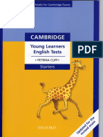 Cliff Petrina Young Learners English Tests Starters Updated