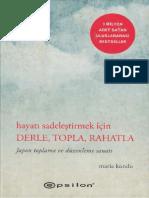 Marie Kondo - Derle Topla Rahatla