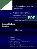 CMGupte Meniscal Biomechanics