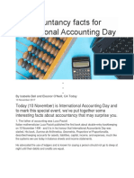 10 Accountancy Facts for International Accounting Day